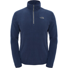 The North Face 100 Glacier Sweat-shirt avec Fermeture éclair 1/4 Homme, urban navy